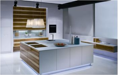 Proyecto completo de gabinetes de cocina personalizados - 17