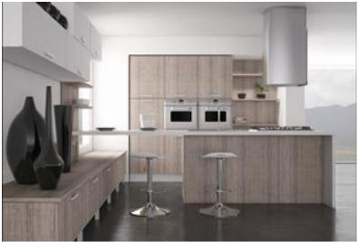 Proyecto de gabinetes de cocina completamente personalizados - 7