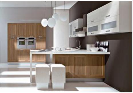 Proyecto completo de gabinetes de cocina personalizados - 9