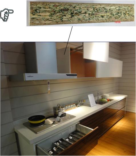 Armoires de cuisine entièrement personnalisées HMR 01