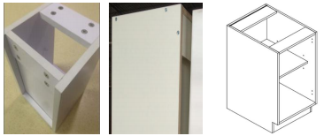 Proyecto de gabinetes de cocina completamente personalizados - 46