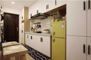 How Kitchen Cabinet Paint Door Panel Manufacture in 8 Step Cabinet Project - 5