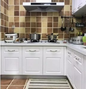 How Kitchen Cabinet Paint Door Panel Manufacture in 8 Step Cabinet Project - 4
