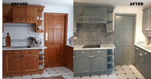 Kitchen Remodel: Hurts a Little Goes a Long Way Cabinet Project - 3