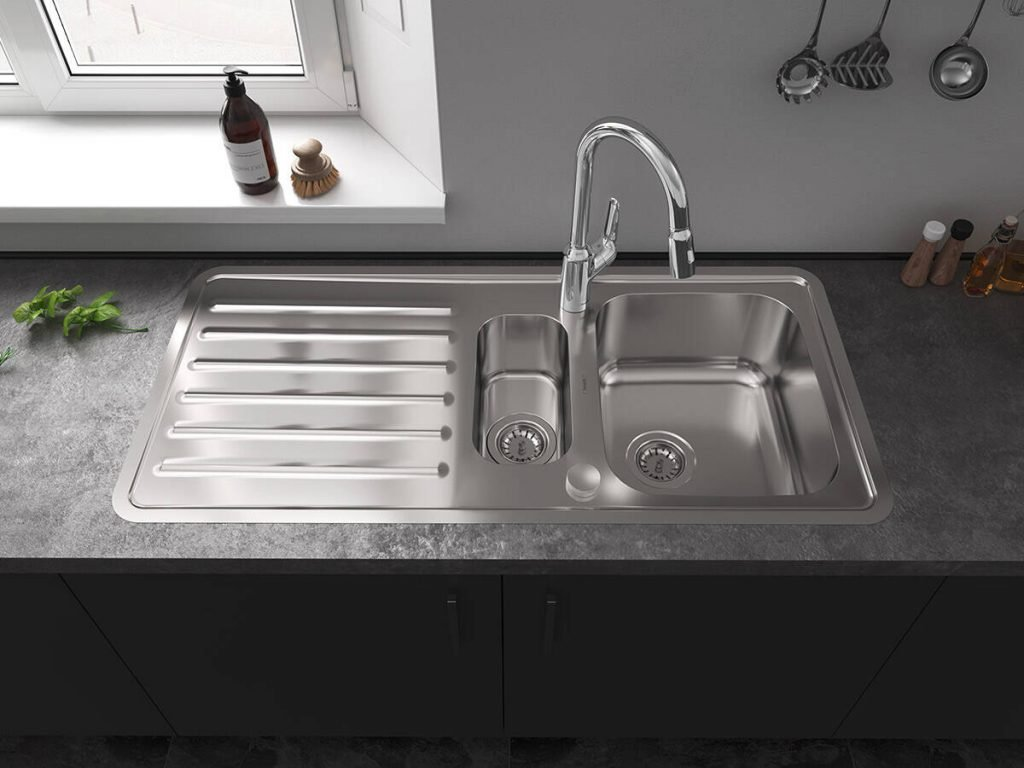 Picking The Shape And Mounting Your Kitchen Sink in 2020 Cabinet Project - 2