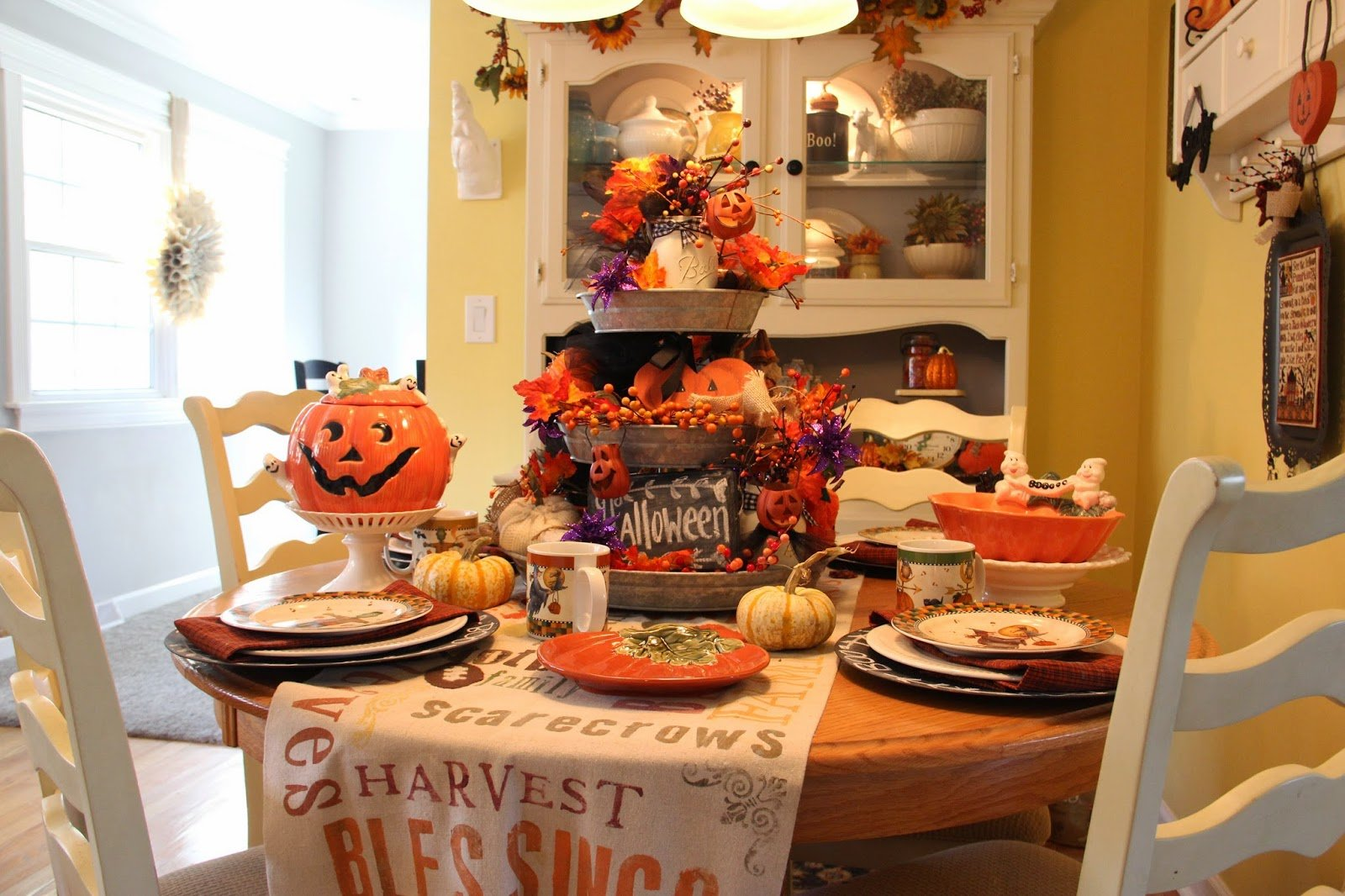 """Decorate your cabinets for a """"scary"""" Halloween! Cabinet Project - 6"""
