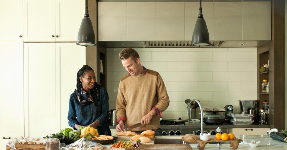 خذ عيد الشكر لتجديد خزائن مطبخك. مشروع الخزانة - 4
